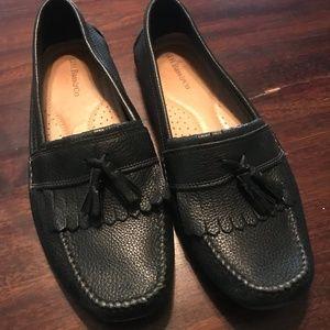 Men's Black Tassel Loafers